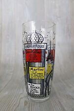 Vintage Paris Themed MOULIN ROUGE Large COCKTAIL Shaker Glass