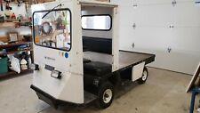 Ez-Go Textron Xi-775 Industrial Electric Warehouse Cart Truck 36Volt New Batts