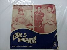 LOVE IN KASHMIR SHANKAR GANESH  7EPE 7170 1975 RARE BOLLYWOOD EP RECORD EX
