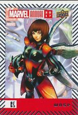 #65 WASP (2018) 2017 Upper Deck Marvel Annual AVENGERS CHAMPIONS