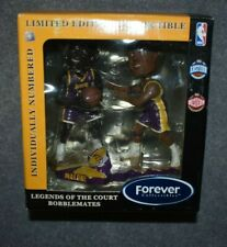 LOS ANGELES LAKERS SHAQUILL O' NEAL/KARL MALONE NBA BOBBLEMATES BOBBLEHEADS