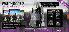 Watch Dogs 2 Collector's Edition Gold Xbox + Wrench Jr Robot /App + Season Pass
