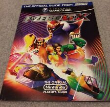 F-Zero GX The Official Strategy Guide for Nintendo Game Cube - USA SHIP