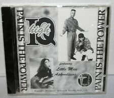 HIGH IQ - PAIN IS THE POWER CD FUNK SOUL R & B BRAND NEW SEALED MEGA RARE O.G