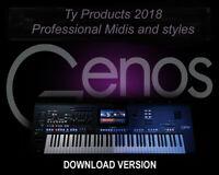 Yamaha  GENOS Professional Styles and MIDIS .....DOWNLOAD......