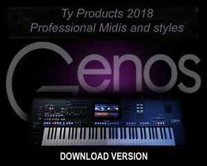 Yamaha  GENOS Professional Styles and MIDIS .....DOWNLOAD......