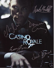 CASINO ROYALE CAST AUTOGRAPH SIGNED PP PHOTO POSTER