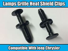 10x Clips For Jeep Chrysler Bumper Push Type Retainer Lamps Grill Heat Shield