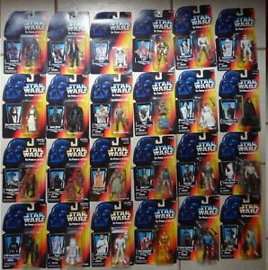 Star Wars Power Of The Force Figures Red Card