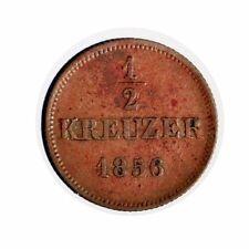 1856 Bayern 1/2 Kreuzer