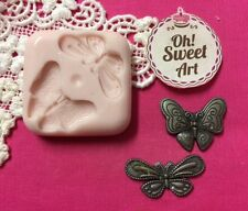 Small Butterflies silicone mold fondant cake decorating cupcakes soap FDA