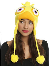 Five Nights At Freddy's 3D Chica Yellow Duck Peruvian Laplander Beanie Knit Hat