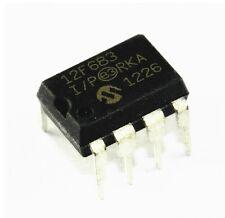 5PCS IC PIC12F683-I/P PIC12F683 DIP8 MICROCHIP IC MCU FLASH 2KX14 NEW