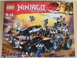 LEGO NINJAGO (70654) Dragon Hunters Dieselnaut Tank Brand new & sealed.........