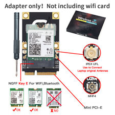M.2 NGFF Key A A+E to PCI-E Adapter WiFi Converter BT Card for AX200NGW DW1560