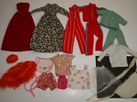 Vintage 1970s Lot of Barbie & Friends Clothing MOMMY MADE Some Sew Free & More