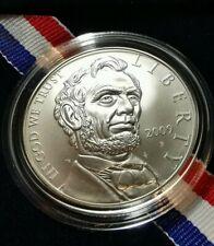 2009 Abraham Lincoln Commemorative Silver Dollar Original Box/COA