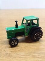 1980 Era Majorette Green 1:65 Farm Tracteur Tractor #208 France