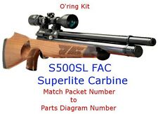 Air Arms O'ring Kit S500SL  FAC