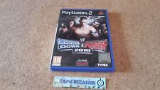 SMACK VERSO IL BASSO VS RAW 2010 / SONY PS2 PLAYSTATION 2 PAL COMPLETO