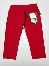 Pantalon pirata mujer Womens Lotto color rojo talla XL.