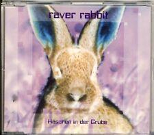 RAVER RABBIT - Häschen in der Grube 4 trk MAXI CD 1996