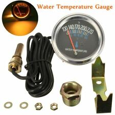 Universal 52mm Car Mechanical Water Temperature Temp Meter Gauge 100~220℉ 12V US