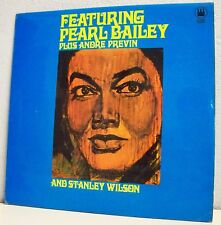 "33T FEATURING PEARL BAILEY Disque LP 12"" WILSON PREVIN"