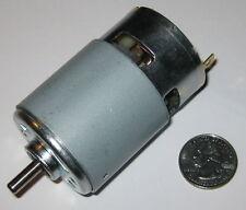 770 Size Electric Hobby Motor - 12 VDC - 50 Watt - 8500 RPM Large Robot Motor
