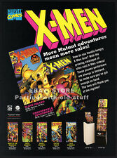 X-MEN: Slave Island / Unstoppable Juggernaut__Original 1993 Trade Print AD promo