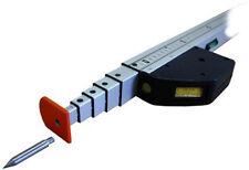 Teleskopmeßstab Teleskopmeter EasyFix 5m mit einschraubbaren Spitzen + Tasche
