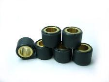 JEU DE 6 GALETS EN 15X12 4.5 gr pr MBK Evolis 50/Ovetto50/Nitro 50/ Nitro 100/