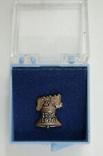 Vintage Bicentennial 1776 - 1976 Liberty Bell Pin Pin Back Pinback