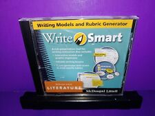 McDougal Littell Literature Grade 9 Write Smart Pc Cd Rom B510
