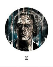 DOC BROWN - Giclee by LUKE BUTLAND - 1/1 - BACK TO THE FUTURE - one of a kind