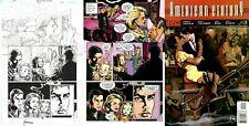 Howard Chaykin SIGNED American Century Original Art Title Page DC Comics Vertigo