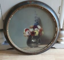 More details for art deco antique print of oil painting