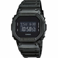 Casio G-Shock Digital Antiurto Nero DW-5600BB-1ER Unisex Led Cronografo Sveglia
