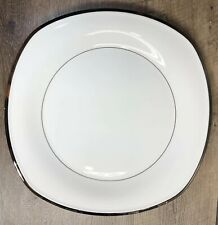 "Lenox Solitaire White Square Serving Platter 13"" ~new~"
