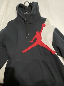 Jordan Pull Over Hoodie Men's Large