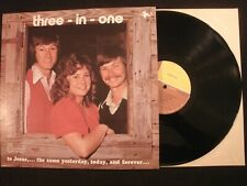 THREE-IN-ONE - To Jesus, the same yesterday,today and forever - 1977 Vinyl 12''