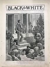 Our Consular Service At The Seat Of War: 1894 Black & White Magazine Print