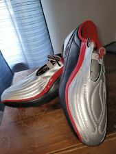 New listing Reebok Baleni Soccer Cleats USED Men's 9 silver/red shoes