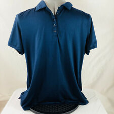 Red House Men's Blue Miller Lite Polo Shirt Size Extra Large Short Sleeve Casual
