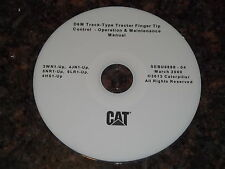 CAT CATERPILLAR D6M TRACTOR DOZER OPERATION & MAINTENANCE MANUAL CD