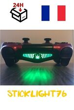stickers cana weed v3 light bar manette ps4 led