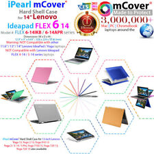 "NEW mCover® Hard Case for 14"" Lenovo Ideapad FLEX 6-14IKB 6-14ARR 2-in-1 Laptop"
