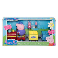 Peppa Pig On Grandpa's Train Children's Toys Ages 3+ Adventure Play
