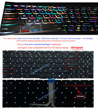 OEM UK keyboard Crystal key BACKLIT MSI GS65 Stealth Thin 8RE//8RF //IN111-UK