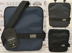 G-STAR RAW Body Bag Mens S-M Pouch Case Assorted Flat Tablet Shoulder Bags BNWT